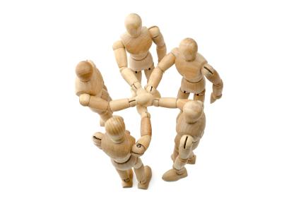 Teamarbeit kennenlernen